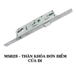 Thân khóa đơn điểm MSC28II