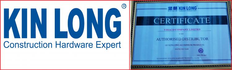 KINLONG – Phụ kiện cửa nhôm cao cấp – Đại lý VIHACO cung cấp.