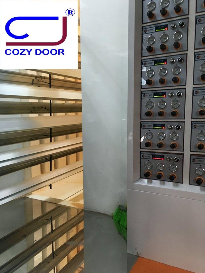 Quy trình sơn tĩnh điện thanh nhôm định hình cao cấp Cozydoor