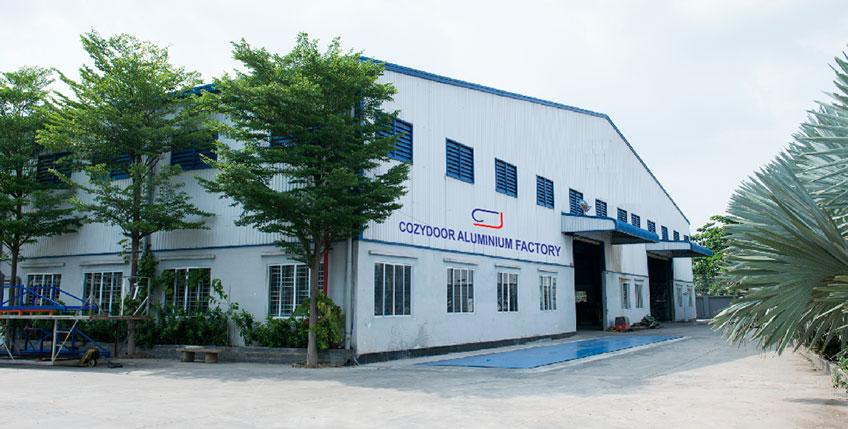 Nhà máy nhôm cozydoor